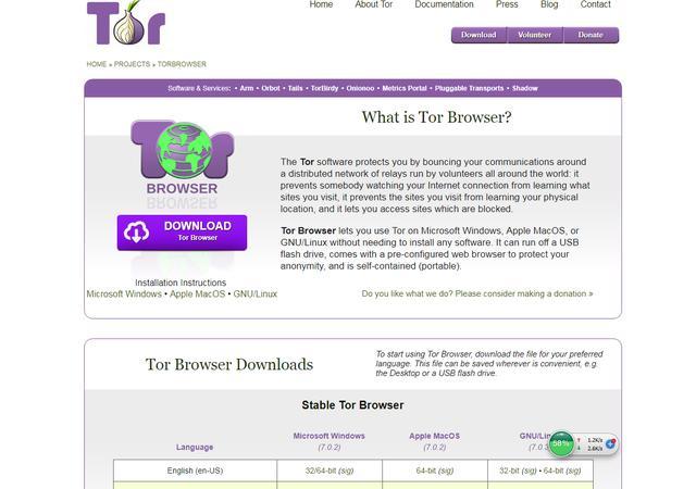 tor浏览器