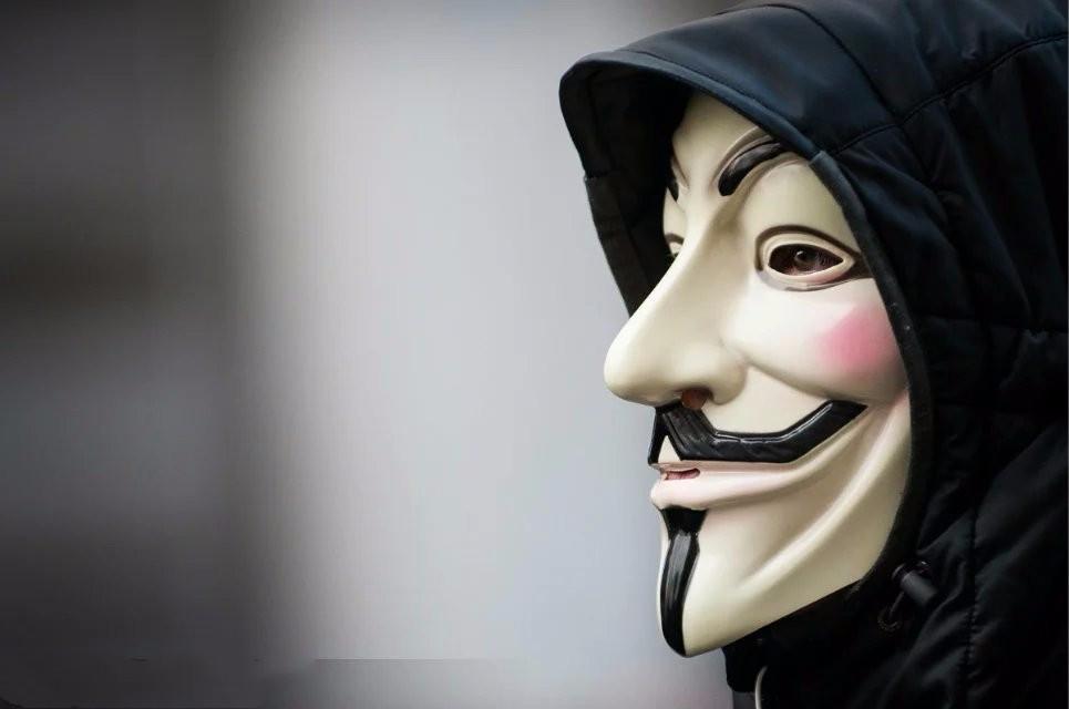 黑客头像面具