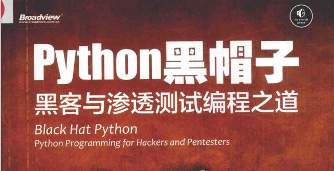 《Python黑帽子+黑客与渗透测试编程之道》 pdf下载