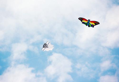 风筝怎么放飞起来技巧?